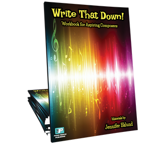 Write That Down! - Composition Workbook