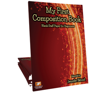 My First Composition Book (Digital: Unlimited Reproductions)