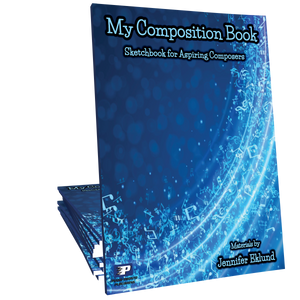 My Composition Book: A Sketchbook for Aspiring Composers (Digital: Unlimited Reproductions)