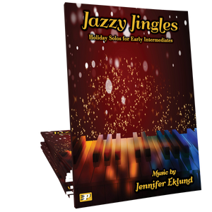 Jazzy Jingles Songbook - Holiday Solos for Early Intermediates **SAVE 30%**