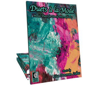 Duets a la Mode Songbook - Music by Lisa Donovan Lukas