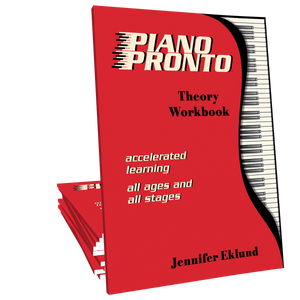 Piano Pronto®: Theory Workbook **Inventory Clearance**