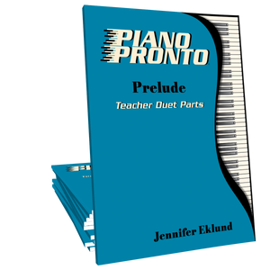 Piano Pronto® Teacher Duets: Prelude