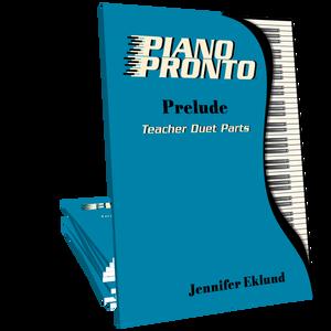 Piano Pronto® Teacher Duets: Prelude