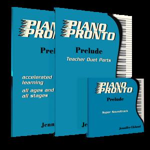 Prelude Teacher Super Pack (Student Book, Teacher Duets, Play-Along CDs)
