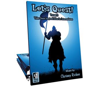 Let's Quest! Volume 3 - Songbook by Chrissy Ricker