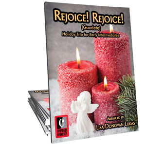 Rejoice! Rejoice! Trio - Arranged by Lisa Donovan Lukas