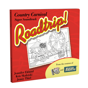 Roadtrip!™ Country Carnival: Super Soundtrack (Vocals & Play-along tracks)