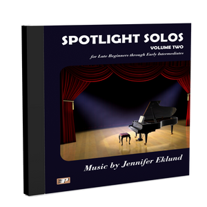 Recordings: Spotlight Solos Volume 2 (Digital Download - Mp3s)