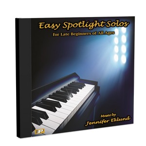 Recordings: Easy Spotlight Solos (Digital Download - Mp3s)