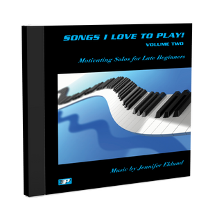 Recordings: Songs I Love to Play, Volume 2 (Digital Single User: Mp3 Files)