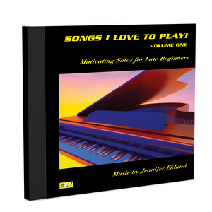 Recordings: Songs I Love to Play, Volume 1 (Digital Single User: Mp3 Files)