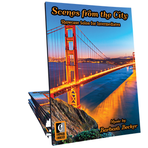Scenes from the City - Songbook by Barbara Becker