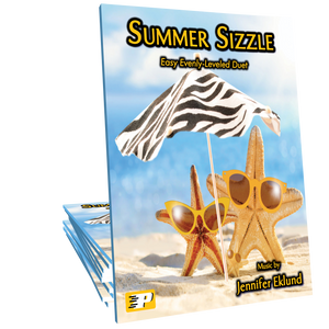 Summer Sizzle (Evenly-Leveled Easy Duet) **LIMITED TIME FREEBIE**