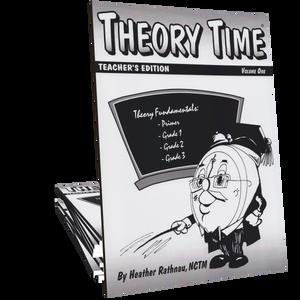 Theory Time®: Teacher's Edition Volume 1 (Primer through Grade 3)