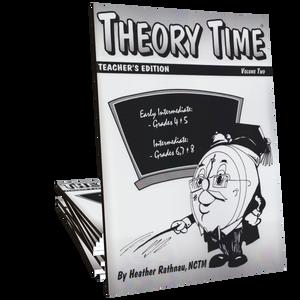 Theory Time®: Teacher's Edition Volume 2 (Grades 4 through 8)