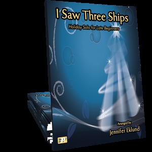 I Saw Three Ships for Easy Piano