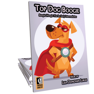 Top Dog Boogie - Trio by Lisa Donovan Lukas