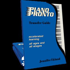 Piano Pronto® Transfer Guide (Digital Download)