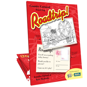 Roadtrip!™ Country Carnival Student Travel Log (Digital Download)