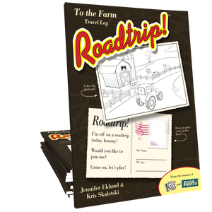 Roadtrip!™ To the Farm Student Travel Log (Digital Download)