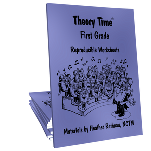 Theory Time® Reproducible Series: First Grade Pack