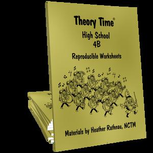 Theory Time® Reproducible Series: High School 4B