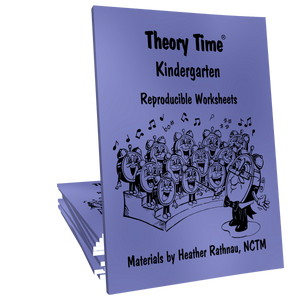 Theory Time® Reproducible Series: Kindergarten Pack