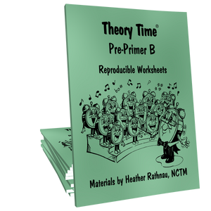 Theory Time® Reproducible Series: Pre-Primer B
