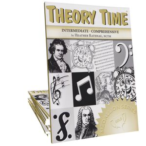 Theory Time® Medallion Series: Gold Workbook