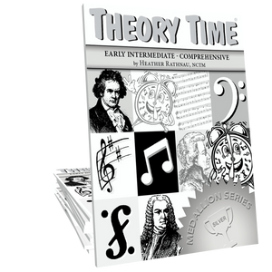 Theory Time® Medallion Series: Silver Workbook