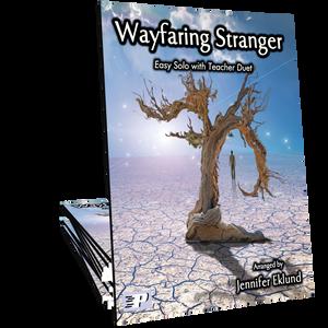 Wayfaring Stranger (Easy Solo with Teacher Duet)