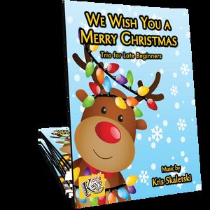 We Wish You a Merry Christmas Trio