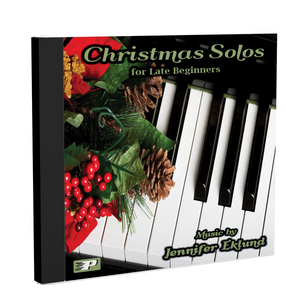 Recordings: Christmas Solos for Late Beginners (Digital Single User: Mp3 Files)