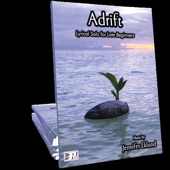 Adrift - Elegant Lyrical Solo for Beginners