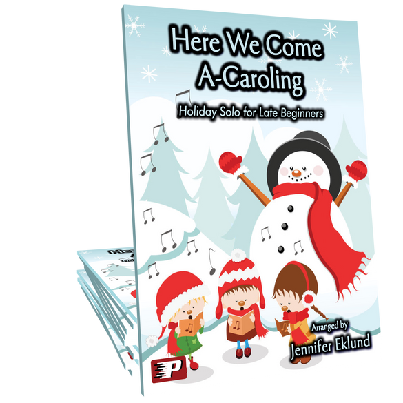 Here We Come A-Caroling (Easy Piano)
