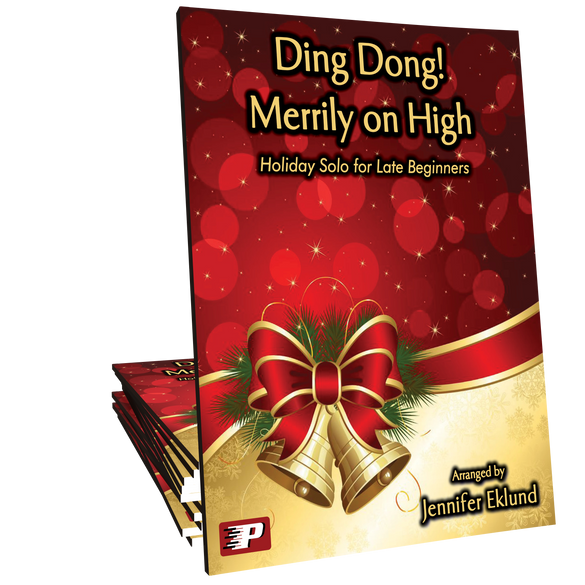 Ding Dong! Merrily on High (Easy Piano)