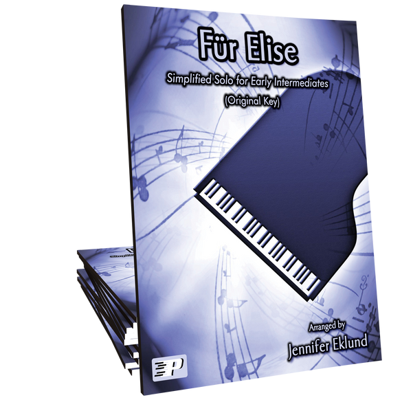 Fur Elise Original Key Simplified Version