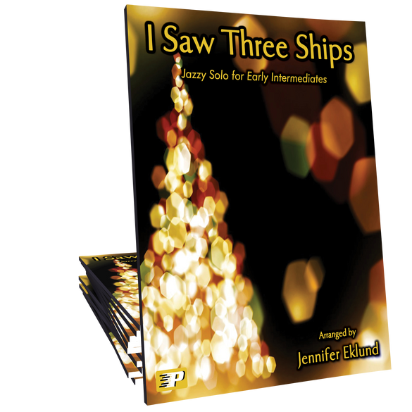 I Saw Three Ships - Upbeat Jazzy Solo