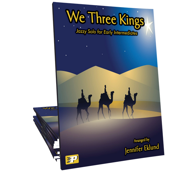 We Three Kings - Upbeat Jazzy Solo