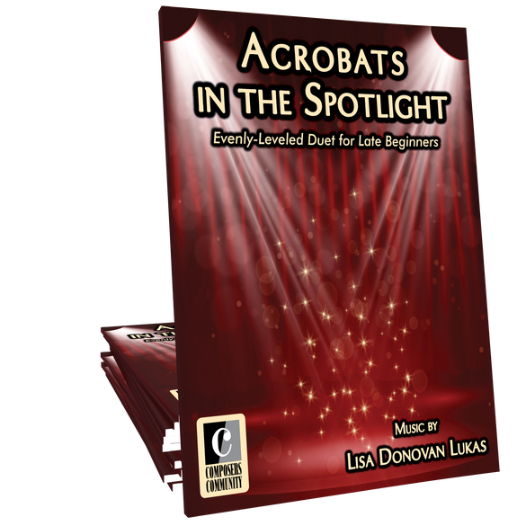 Acrobats in the Spotlight - Duet by Lisa Donovan Lukas