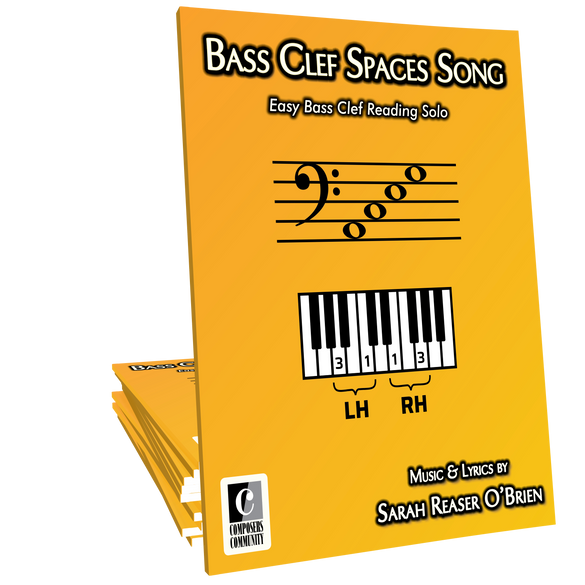 Bass Clef Spaces Song