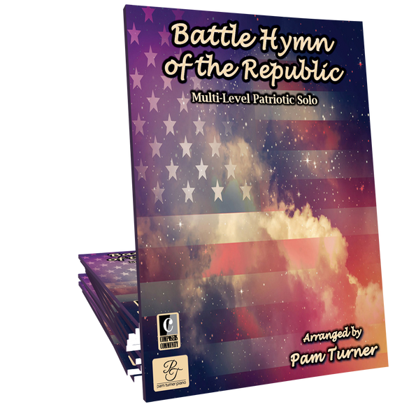 "Battle Hymn of the Republic (""Mine Eyes Have Seen the Glory"") - Multi-Pack by Pam Turner"