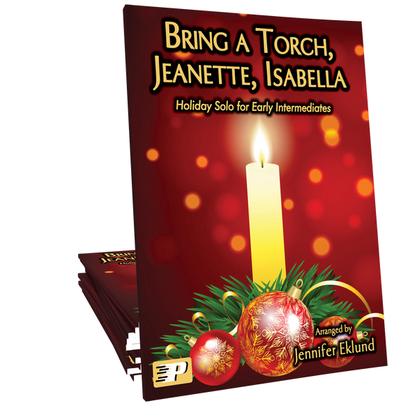 Bring a Torch, Jeanette, Isabella (Easy Piano)
