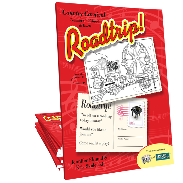 Roadtrip!® Country Carnival: Teacher Guidebook & Duets
