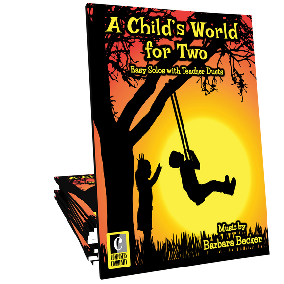 A Child's World for Two - Songbook by Barbara Becker