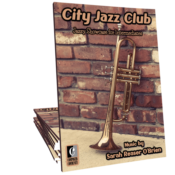 "City Jazz Club (from ""Star City Solos"") - Music by Sarah Reaser O'Brien"