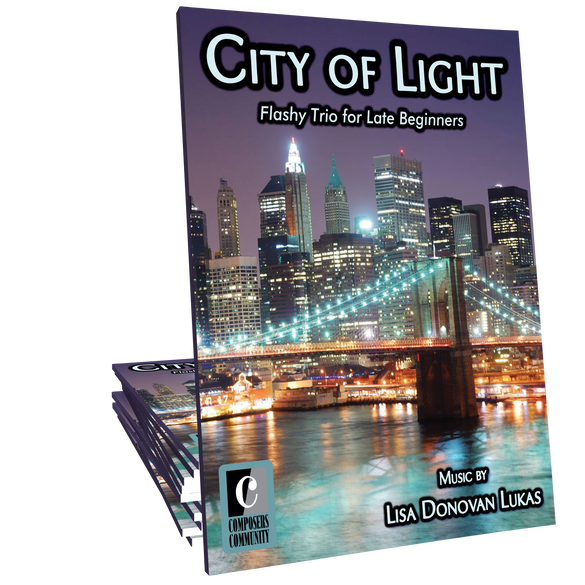 City of Light - Trio by Lisa Donovan Lukas