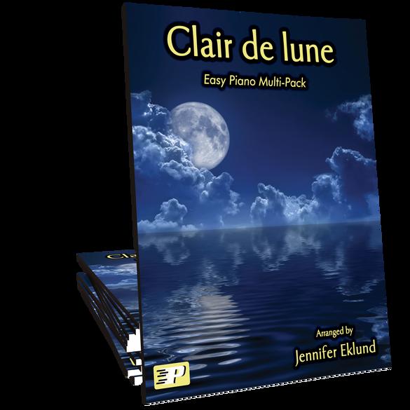 Clair de lune (Easy Piano Multi-Pack)