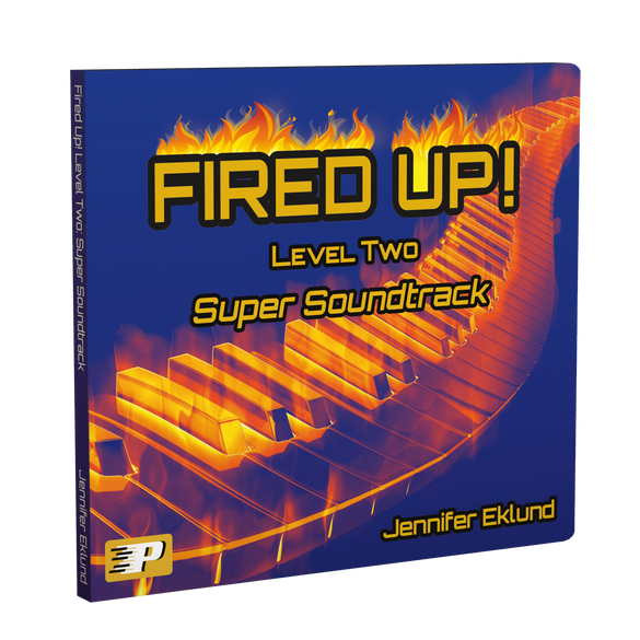 Fired Up! Level Two: Super Soundtrack (Play-along tracks & Duets)
